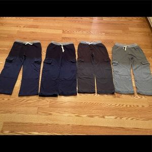 Bundle 4 pairs Hanna Andersson double knee sweats
